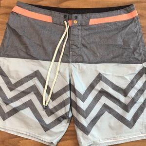 Men's Billabong board shorts size 36